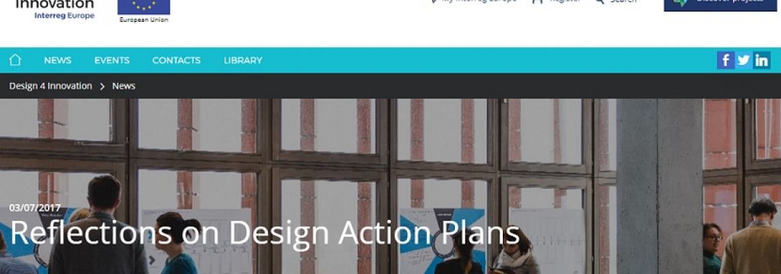 Reflections on Design Action Plans